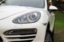Porsche Cayanne front