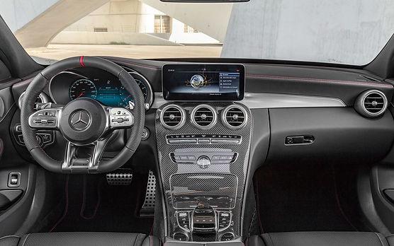 2019 c43 interior