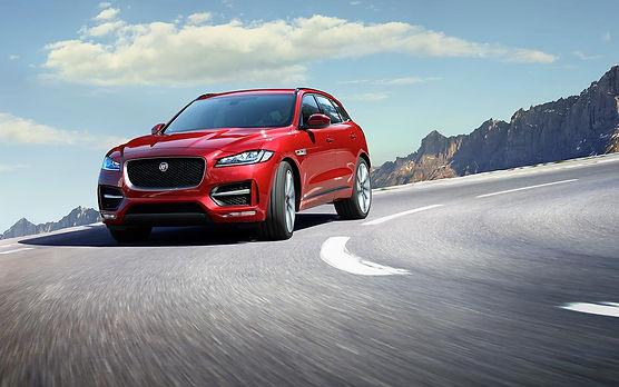 jaguar f pace front