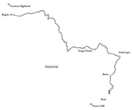 Sungai Felda map