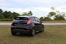 Fiesta ST back