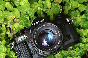canon ae 1 program