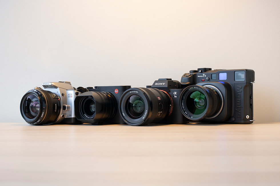 film versus digital camera