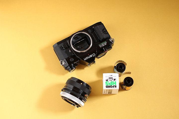 canon ae1 black