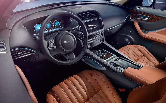 jaguar f pace interior