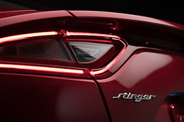 kia stinger back