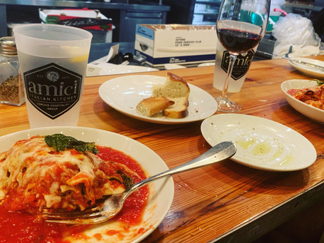 """Friends, Family and Full Bellies"" at Amici 30A Kitchen"
