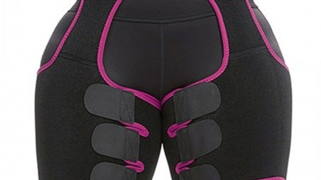 High Waist Thigh Shaper Pink