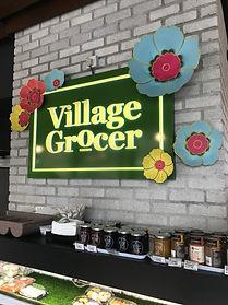 Village Grocer Paper Flowers DH Paper Ar