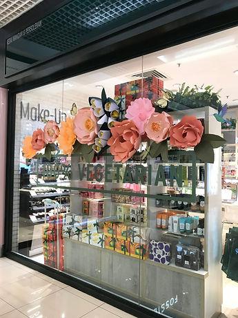 The Body Shop Paper Flower DH Paper Art.