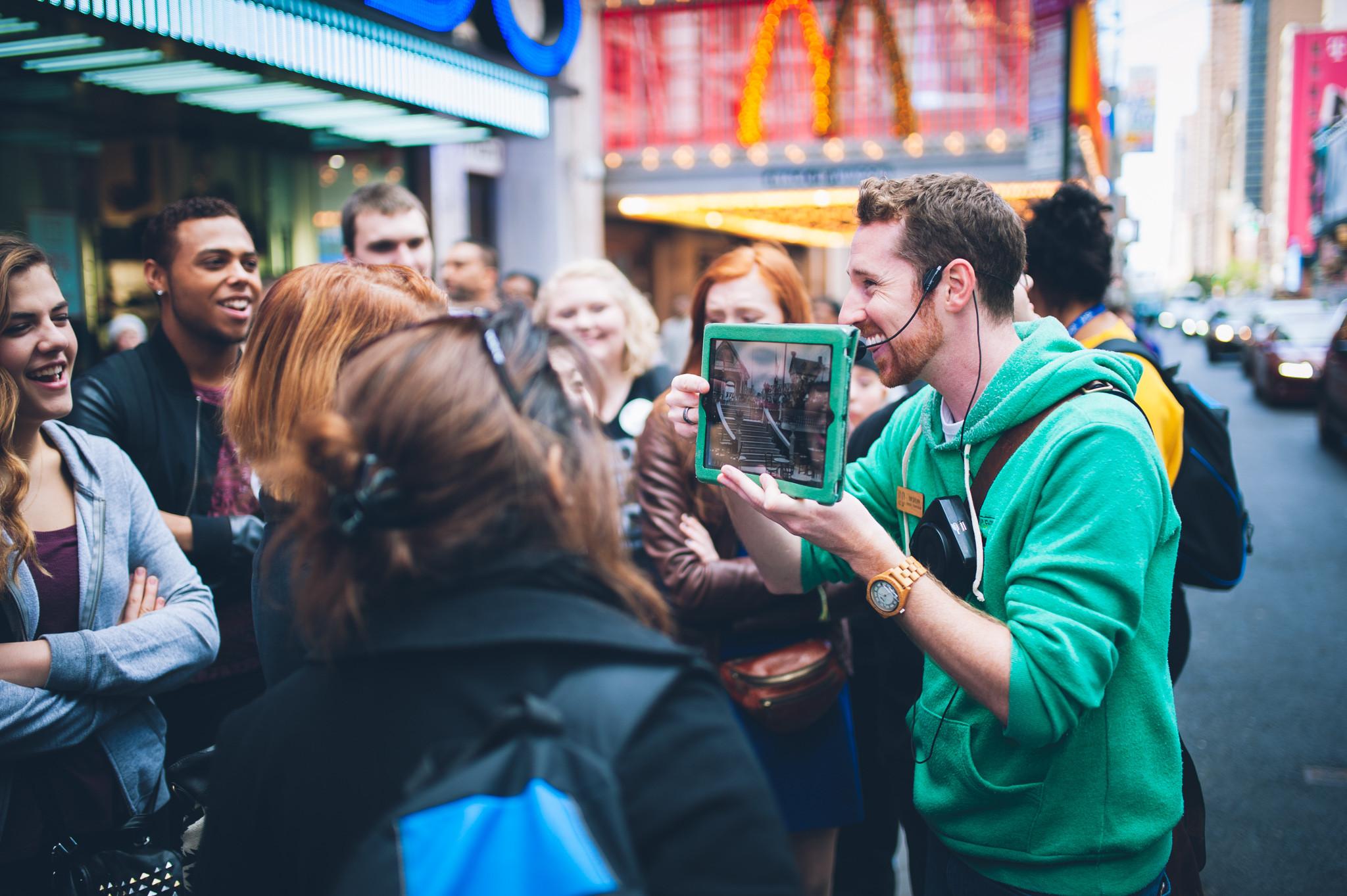 Broadway Up Close Walking Tours