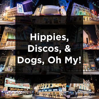 Hippies, Discos, & Dogs, Oh My! Icon-pag