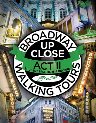 ACT II Souvenir Book Broadway Up Close