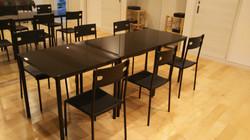 テーブル(3台)チェア(6脚)Bスタジオ