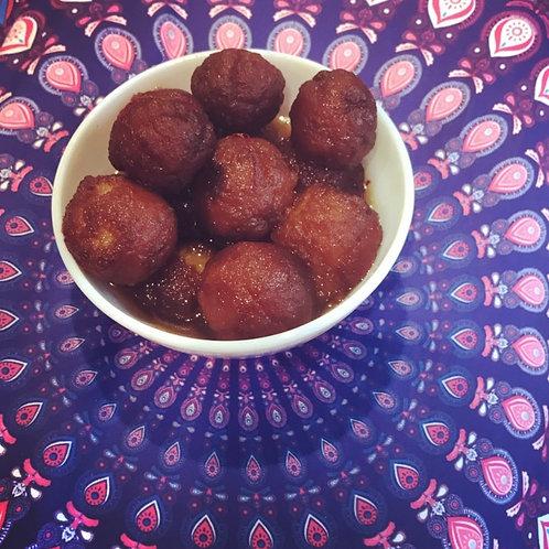 Homemade Gulab Jamoon