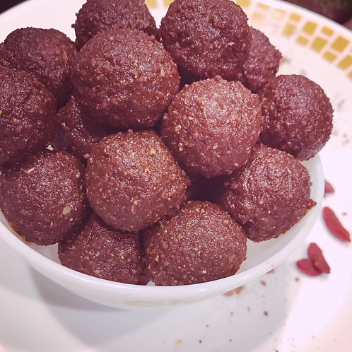 Chocolate truffles Energy Balls