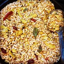 Kadale Puri Vaggarne - Turmeric infused Spicy Nutty Puffed Rice - Snacks (Kalle Puri)