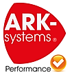 ark-systems Logo Produkte ok, Performanc