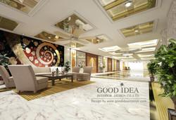 ออกแบบตกแต่งภายในโรงแรมสยามแกรนด์