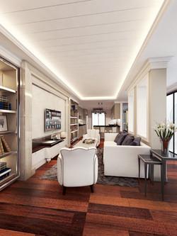 ตกแต่งภายใน Luxury บ้าน คุณเอื้อง อุดรธานี 29