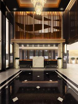 ตกแต่งภายในโรงแรม Pattaya Center