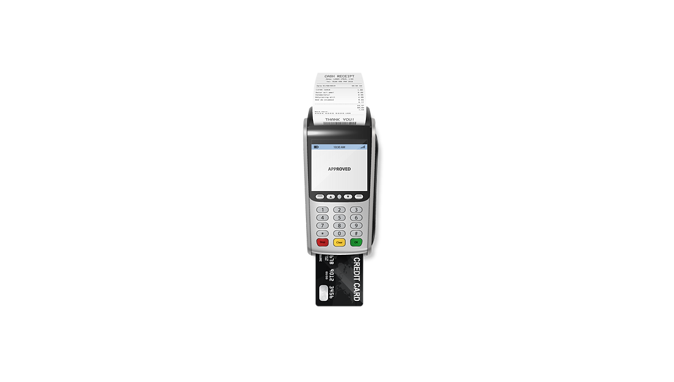 Verifone point of sale credit card terminal