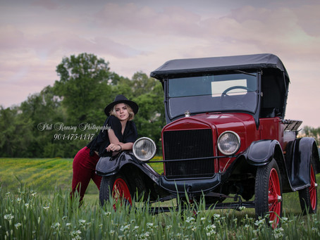 And yes...You can bring your own prop to your senior session!!