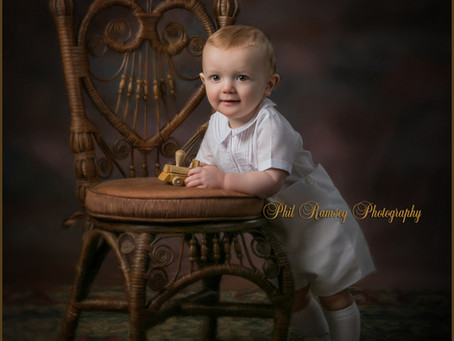 Will's 1yr portrait!