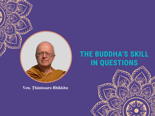 Video: Thanissaro Bhikkhu - The Buddha's Skill in Questions
