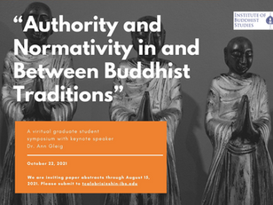 Call For Papers: 2021 Institute of Buddhist Studies Graduate Student Symposium