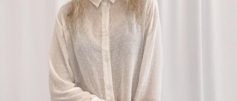 Camisa Rue / Off White