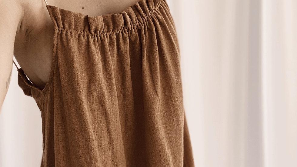 Classy Paz Dress / Camel