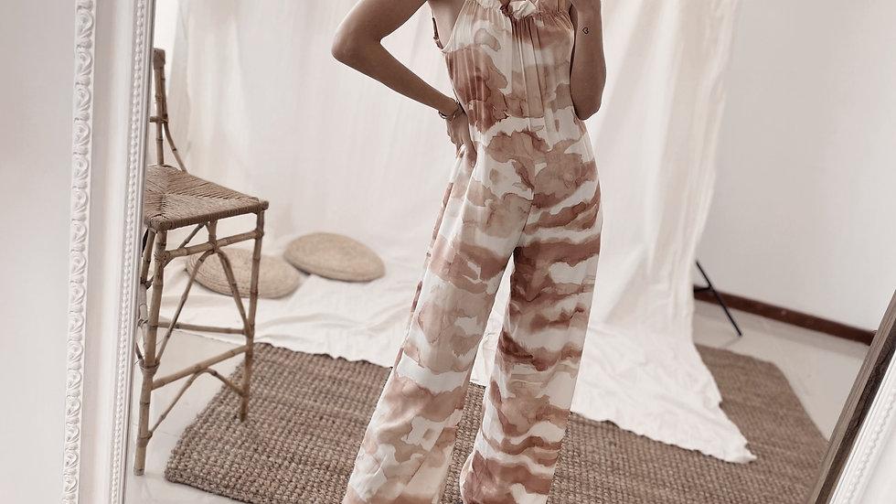 Mono Long Peace / Batik Nude & Off White