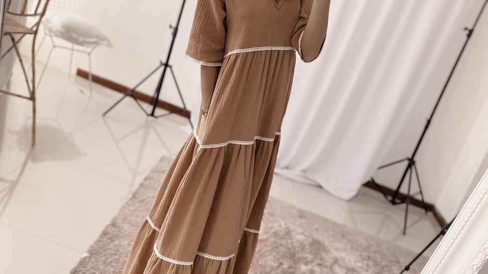 Colonial Dress / Tostado