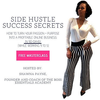Side Hustle Success Secrets - Form Activ