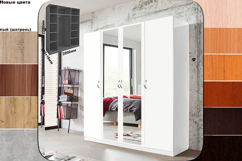 Шкаф ст110-2000з (с 2мя зеркалами)