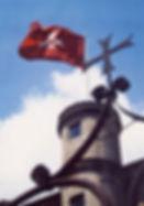 Bandera de la Orden de Malta