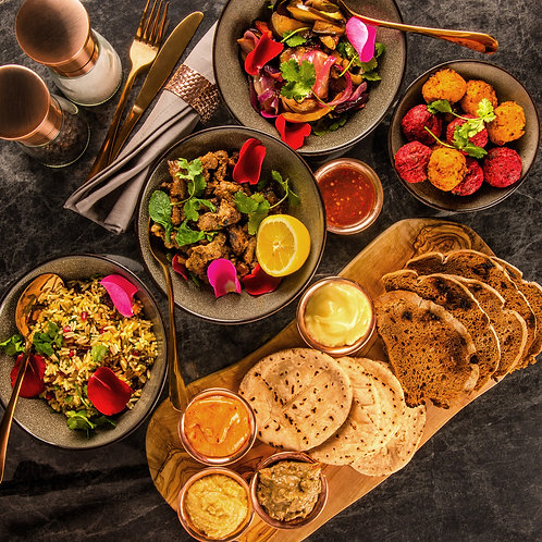 Middle Eastern Feast (for 2-4)