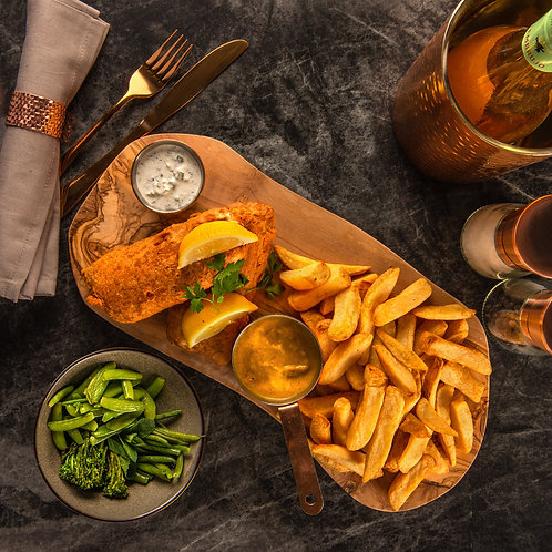 Fish Supper (3-course meal for 2)