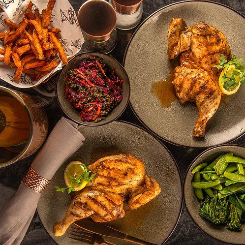 Chicken Dinner (for 2)