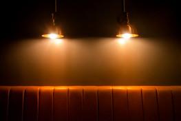 Niche's cosy lighting