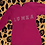 Thumbnail: hot pink bedazzled sweat dress