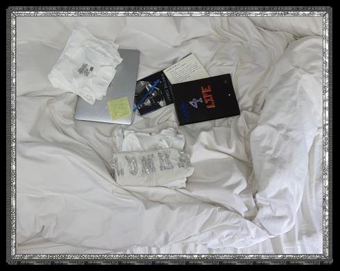 Lumka in Bed