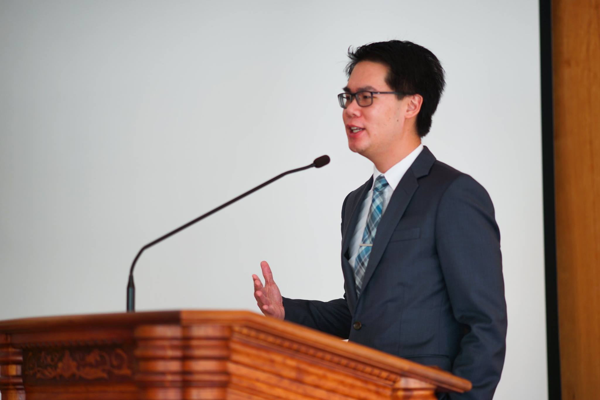Conference Founder Jeff Wu