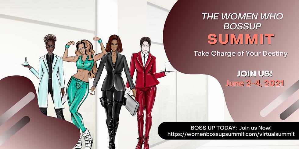 Women Who Boss Up Virtual Summit