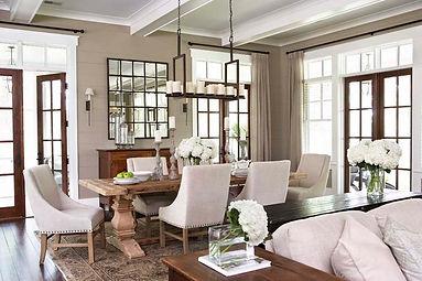 Black & White Classic Living Room Design