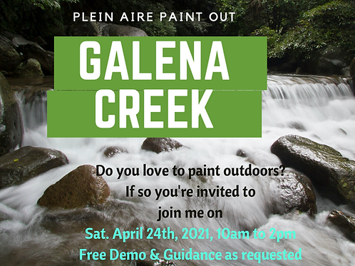FREE Paint Out at Galena Creek
