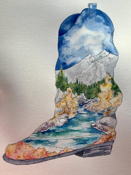 Kick up your Heels Watercolor Workshop