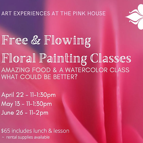 Free Flowing Florals@the Pink House May13