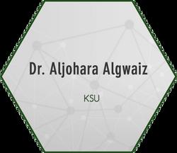 Dr. Aljohara Algwaiz
